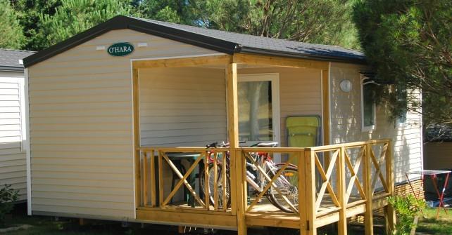 MOBILE HOME 2 HABITACIONS costat muntanya (4/6 pers.)