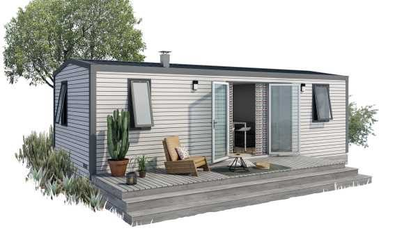 Mobil Home Palace 2 habitacions Costat Muntanya (4/6 pers.) 2019
