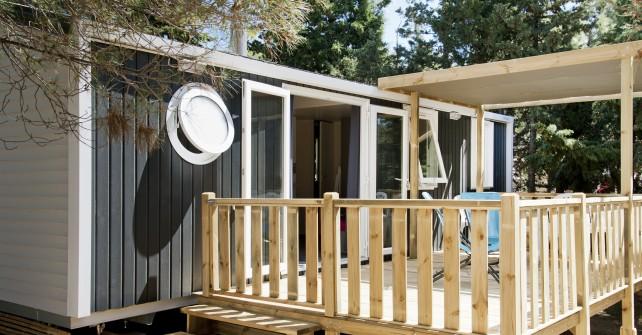 MOBIL HOME 3 habitacions costat muntanya (6pers.) Model 2014