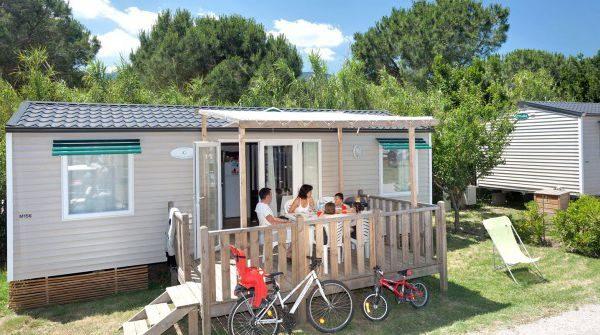 MOBILE HOME 2 HAB  2 SDB costat muntanya (4/6 persones)