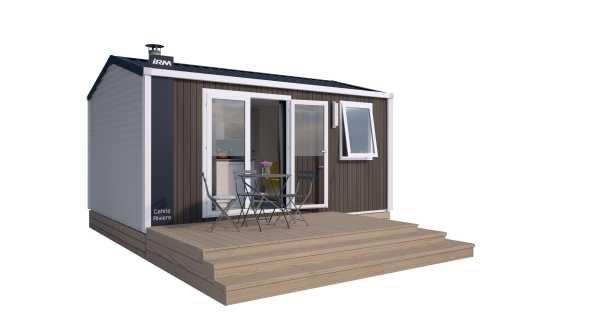 Mobil home Premium 1 habitació Costat Muntanya (2/4 pers.) 2019